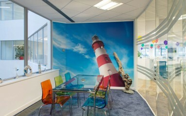 Commercial Interior Photography of Sovereign House Brighton