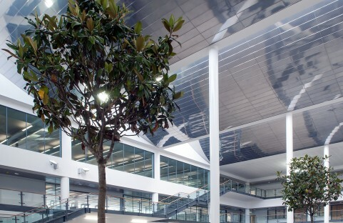Professional photograph of interior of east surrey college