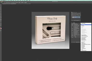 Recording actions to save time editing In Photoshop Photography Firm