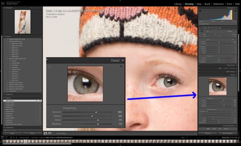 Sharpening to Perfection in Lightroom Photography Firm